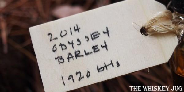 Cotswolds 2014 Odyssey Barley Single Malt label