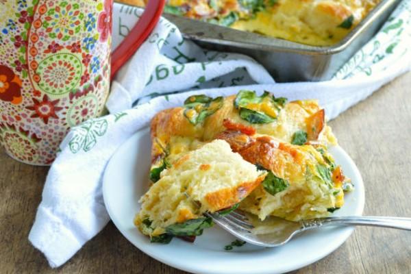 Crescent Roll Breakfast Bake Image