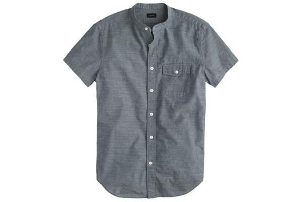 J. Crew Secret Wash Short Sleeve Shirt