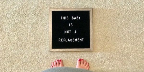 This baby is not a replacement