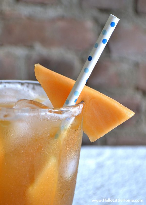 Cool off with a refreshing Ginger Melon Green Tea! | Hello Little Home