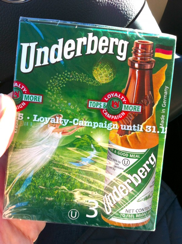 Underberg Digestif Bitters