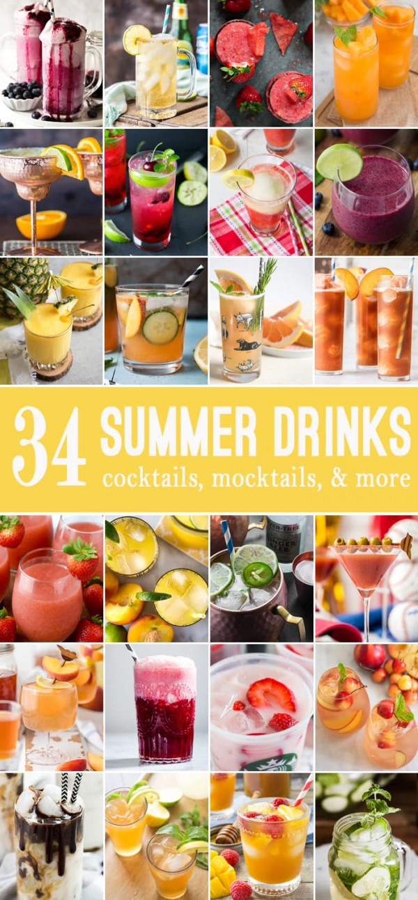 34 Summer Drinks