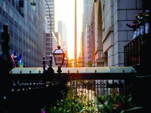 21 Club - Exterior Sunset