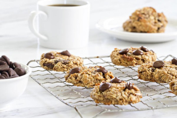 Chocolate Almond Breakfast Cookies Photo