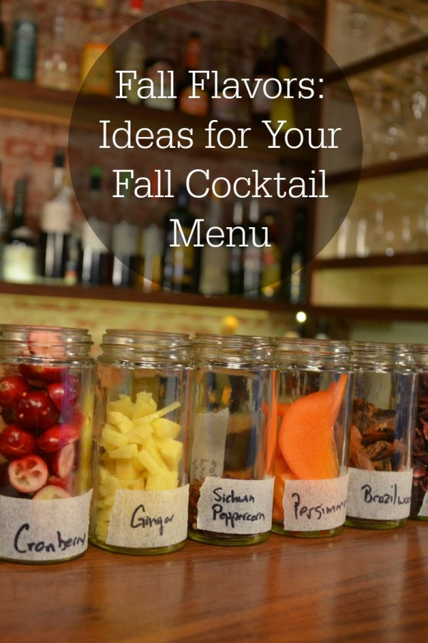 Fall flavors ideas for your fall cocktail menu drinkwire for Fall cocktail ideas