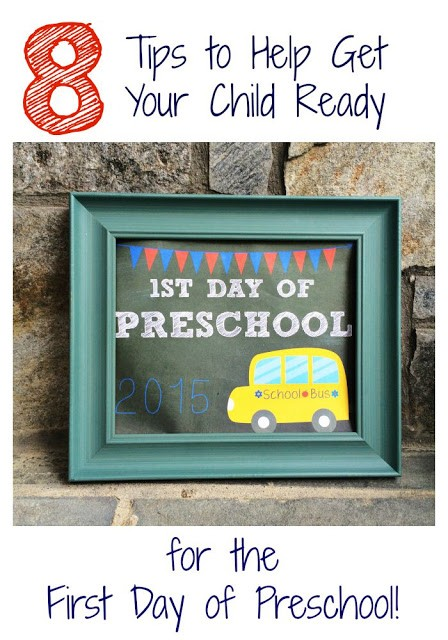 8 Tips to Help Prepare Your Child for Preschool || The Chirping Moms