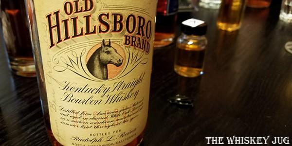 1942 Old Hillsboro Bourbon Label