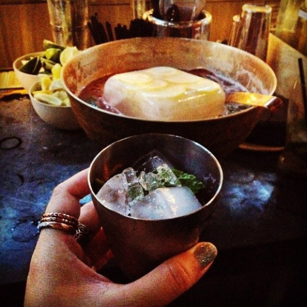 Welcome punch with House Spirits