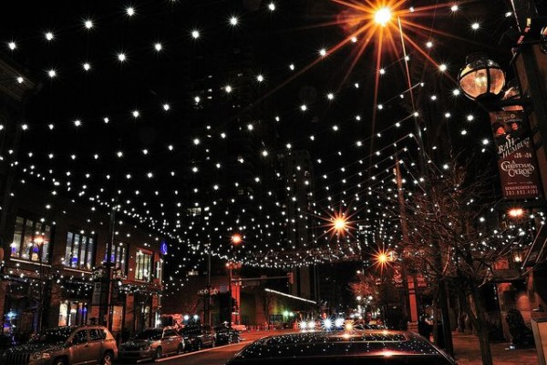 Larimer Square at Night