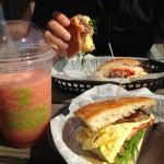 Ithaca Bakery Watermelon Smoothie