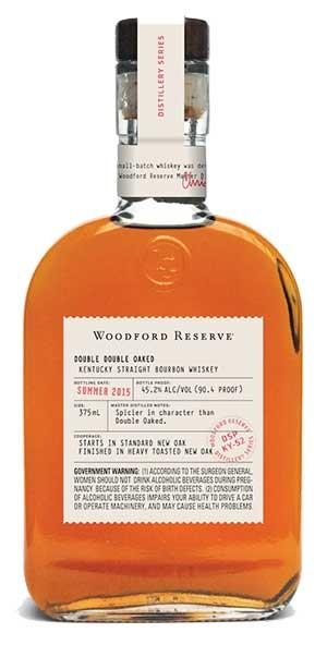 Woodford Reserve Double Double Oaked Bourbon Bottle