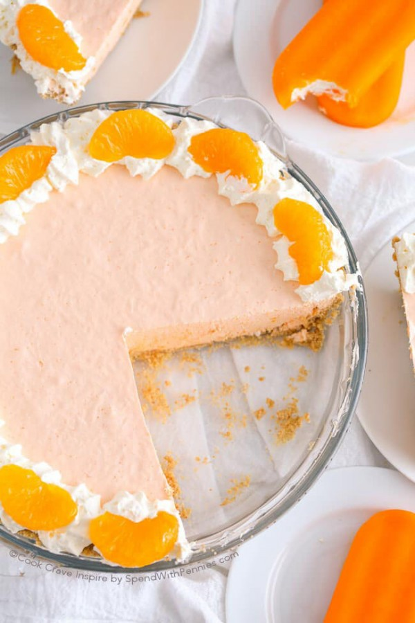 Creamsicle Pie   Spend with Pennies