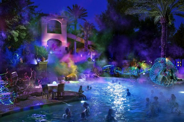 GLO Party at Fairmont Scottsdale Princess by Michael Baxter, Baxter Imaging LLC