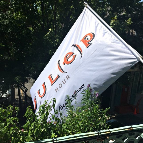 Julep house flag