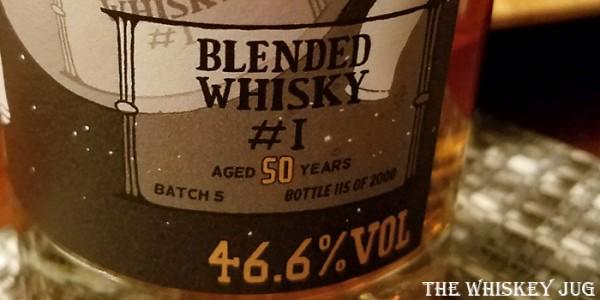 Boutique-y Blended Whisky Label