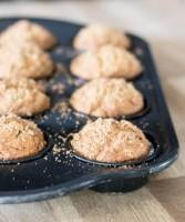 Sugar and Spice Pumpkin Butter Muffins | infinebalance #recipe