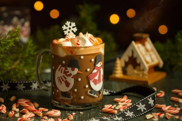 Hot Chocolate with Grand Marnier and Goldschläger