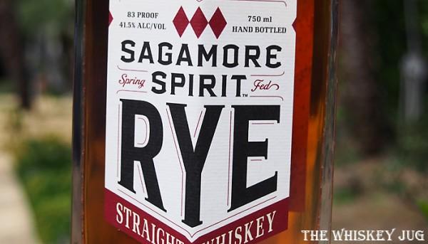 Sagamore Spirit Rye Label