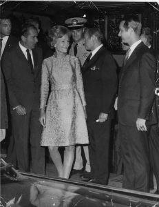 Richard Nixon visits '21'