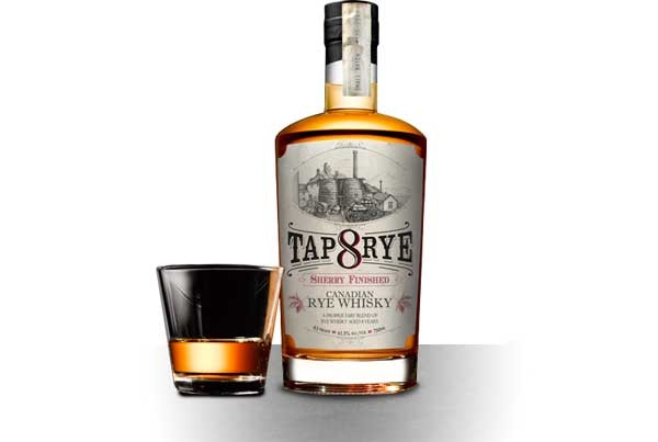 Tap 8 Rye Canadian Whisky