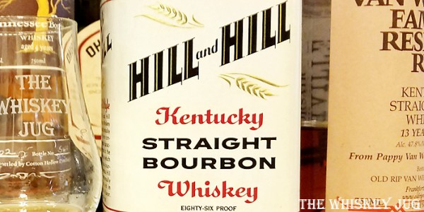 1970s Hill and Hill Bourbon Label