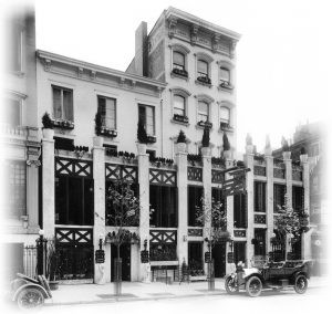 Early 20th century photo of Keen's Chophouse, courtesy of Keens Steakhouse
