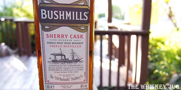 Bushmills Sherry Cask Reserve Label