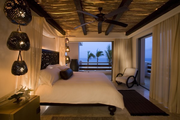 penthouse bedroom - cabo azul resort