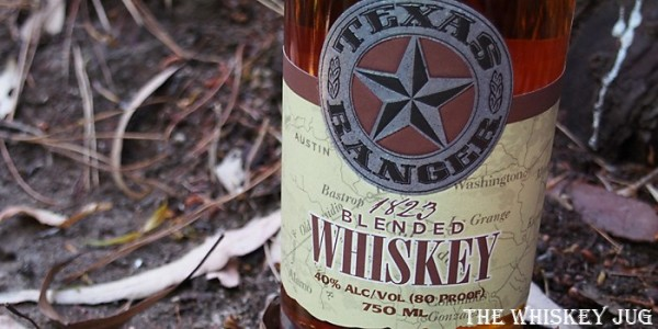 Texas Ranger Blended Whiskey Label