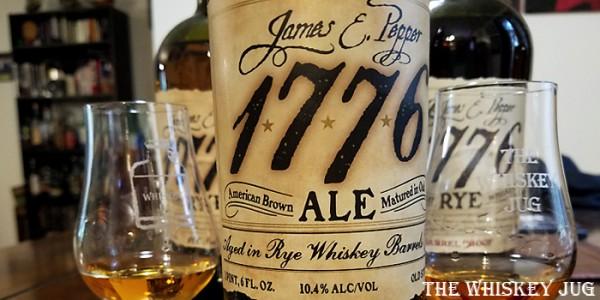 James E Pepper 1776 Ale Label