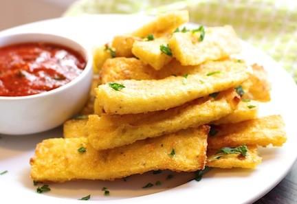 Polenta Fries| LocalSavour.com