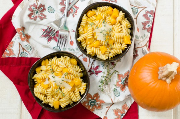 Italian Pumpkin Pasta recipe from DaisyAtHome.com