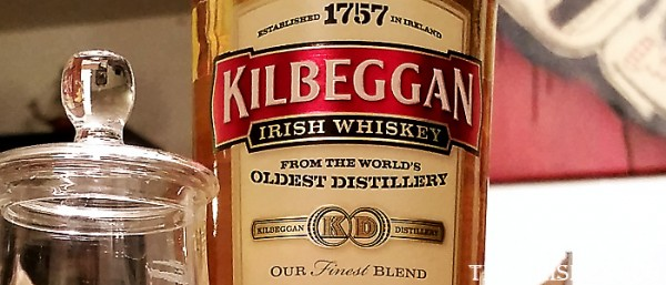 Kilbeggan Blended Irish Whiskey Label