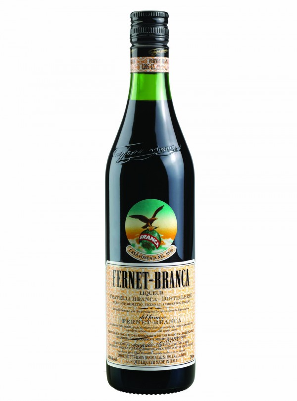 Fernet Branca Bottle