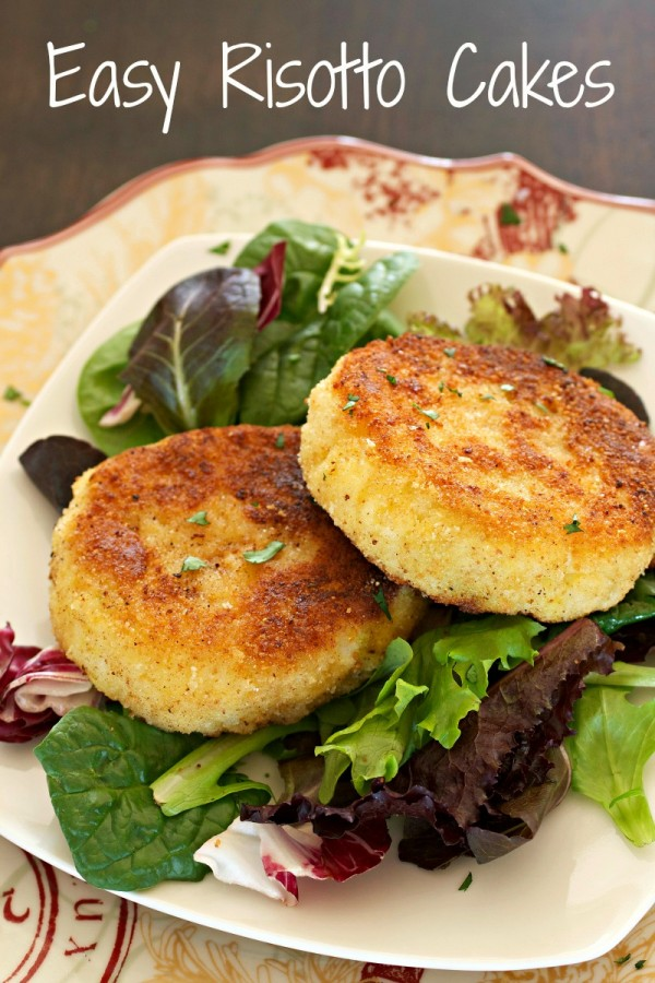 Epicurious Risotto Cakes