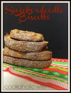 cookaholic wife snickerdoodle biscotti