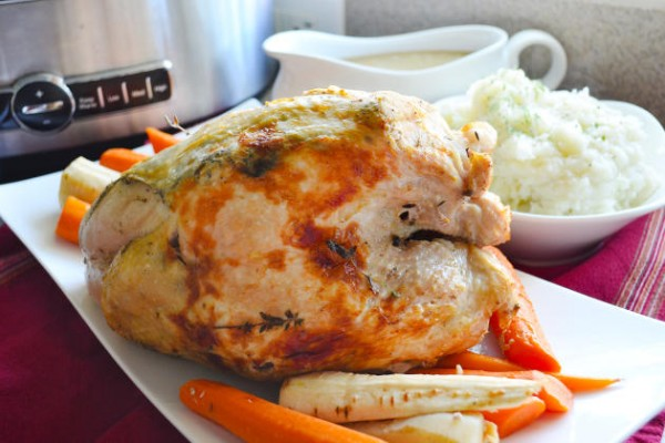 Slow Cooker Turkey Breast Image