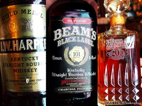 SCWC Tax Stamp Bourbon Tasting - IW Harper - Beam Black - Evan Williams 200th