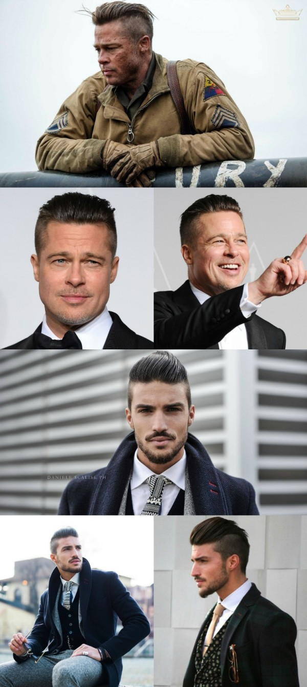 brad pitt and mariano di vaio haircut