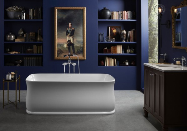 Imperator freestanding bath    Antique bath filler    A true classic, the original design for the Imperator® bath was drawn in 1928 and features refined proportions perfect for modern-day relaxation.