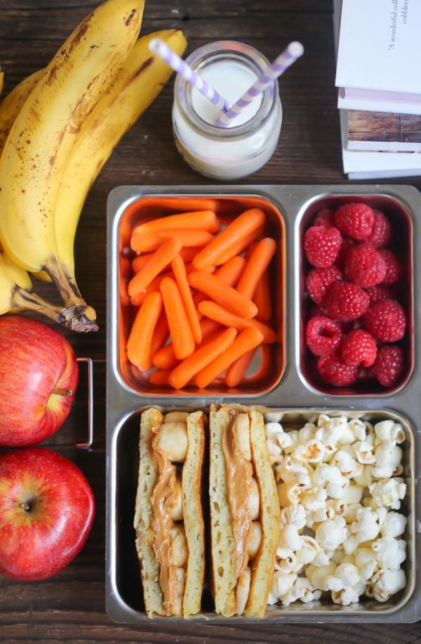 Lunchbox Pancake Sandwiches