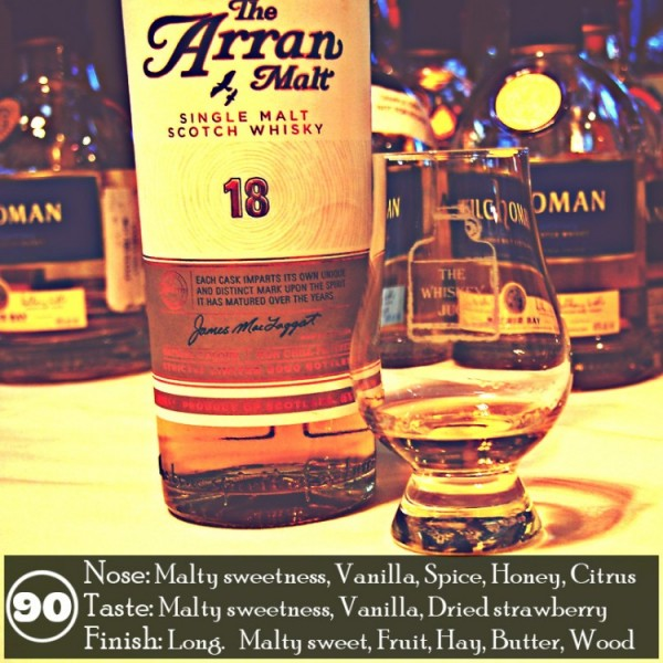 The Arran 18 Years Review