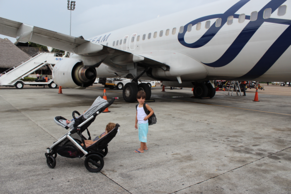 Flying With Children For The First Time