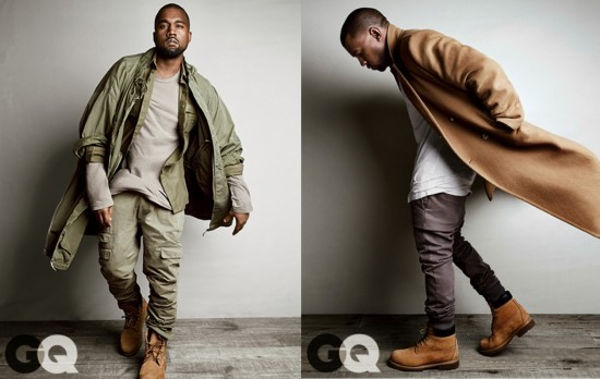 KANYE WEST FOR GQ2