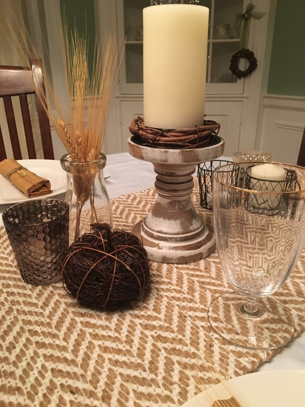 Turning Tables: Thanksgiving Tablescapes