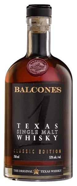 Balcones Single Malt Whisky Bottle