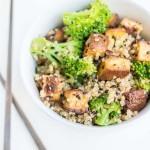 Tofu & Broccoli Quinoa Stir-Fry