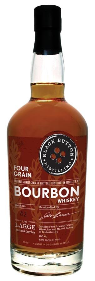 Black Button Four Grain Bourbon Bottle Review
