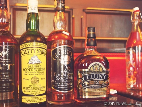Tax-stamped Scotch tasting - SCWC 5
